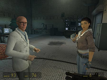 Half-Life 2 - how sad and cold it is. In a good way, not in a Worms 3D way.
