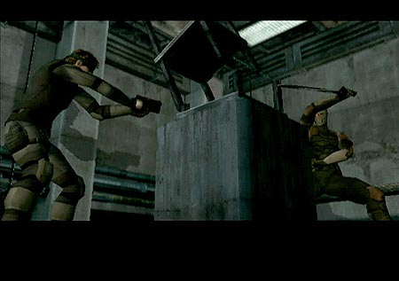 Metal Gear Solid: Twin Snakes - Where it's always Bullet Time.