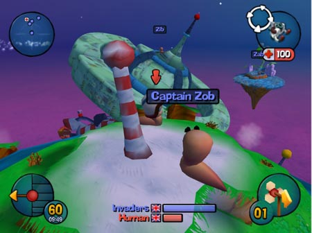Worms 3D - how sad and cold it is.